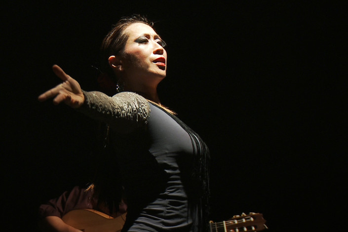 Kasandr La China - Flamenco Dancer