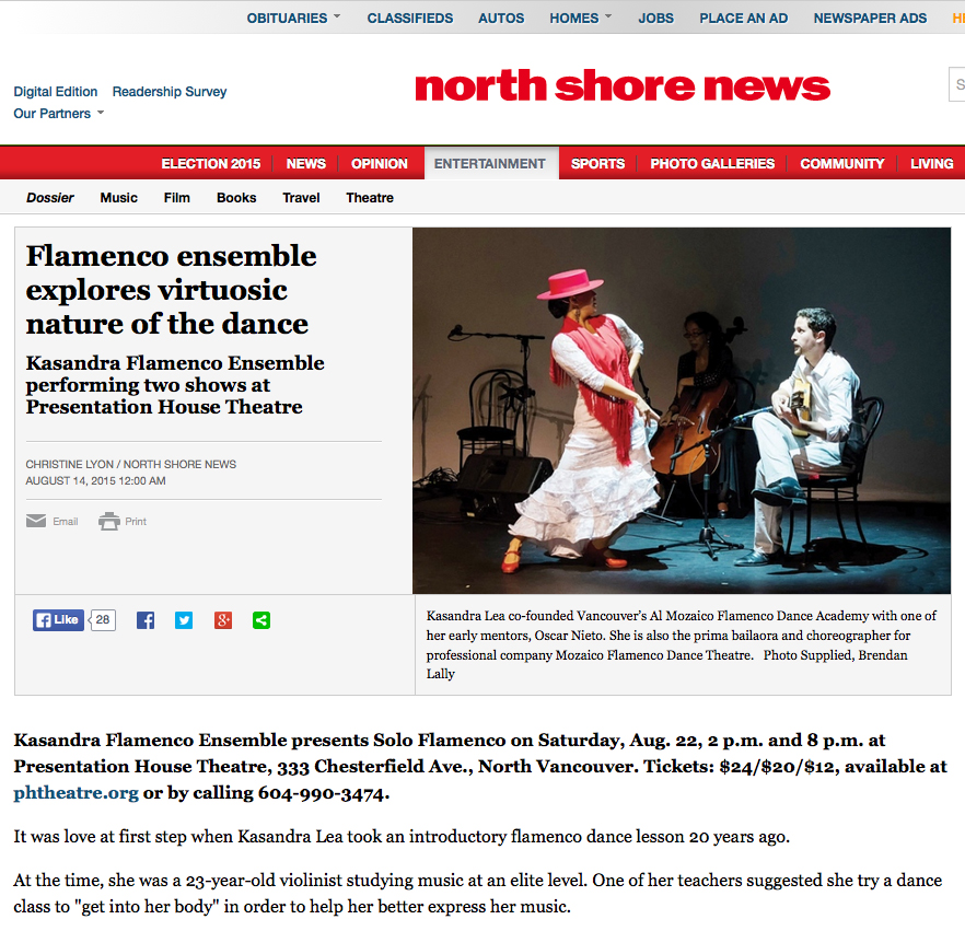 North Shore News August 2015